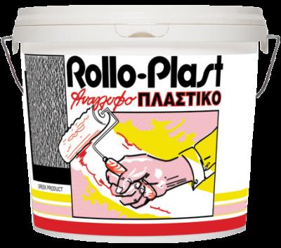 ROLLO-PLAST - Релефна Боя с едрина 0,5 мм - Изображение 1