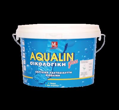 AQUALIN -  бързосъхнеща универсална боя Гланц